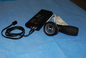 Doppler pour mesure de la pression artérielle